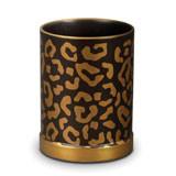 Leopard Pencil Cup 3.5 in