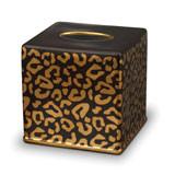 Leopard Tissue Box 6 in Sq.