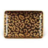 Leopard Rectangular Tray 5 x 7 in