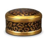 Leopard Round Box 5 in