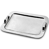 Nordica Serving Tray w/Strap Handles 18½ in x 14¼ in