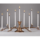 Odelia Tree Menorah 16 in x 5 in
