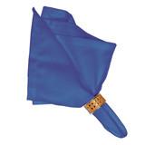 """Herringbone Napkin Delft Blue 22""""Sq"""