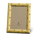 Atelier Florentine Gold & Malachite Cabochons Picture Frame