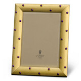 Atelier Florentine Gold & Amethyst Cabochons Picture Frame