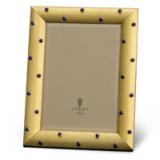 Atelier Florentine Gold & Lapis Cabochons Picture Frame
