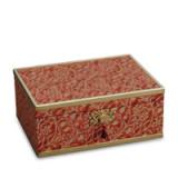 Fortuny Decorative Box Large Granada Red