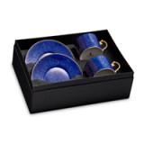 Lapis Tea Cup + Saucer (Gift Box of 2)