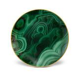 Malachite Canape Plate