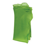 Bias Silk Organza Napkins - Green