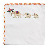 Bali Elephant 21 in Sq Napkins (Set of 4)