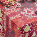 Rialto Peach Table Linens