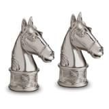 Horse Platinum Salt & Pepper Shakers