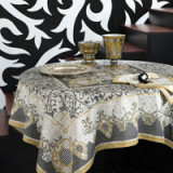 Adagio Gray Table Linens