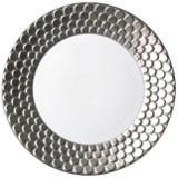Aegean Sculpted Platinum Dinnerware