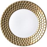 Aegean Sculpted Gold Dinnerware