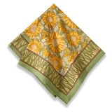 Sunflower Yellow/Green Napkins 19 x 19 in, Six
