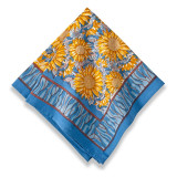 Sunflower Yellow/Blue Napkins 19 x 19 in, Six