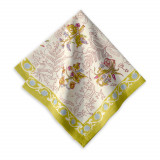 Petite Fleur Green Napkin 19 x 19 in, Six