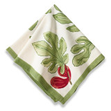 Fig Red/Green Napkins 19 x 19 in, Six