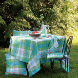 Mille Panache Peacock Table Linens