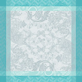Mysterieuse Emeraude Napkin Square 21 in