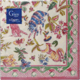 Jardin Imaginaire Paper Luncheon Napkins X 20 13 in. X 13 in. Pack Of 12