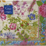 Millefleurs Paper Luncheon Napkins X 20 13 in. X 13 in. Pack Of 12