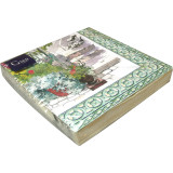 Paris Giverny Paper Luncheon Napkins X 20 13 in. X 13 in. Pack Of 12