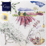 Provence Paper Luncheon Napkins X 20 13 in. X 13 in. Pack Of 12