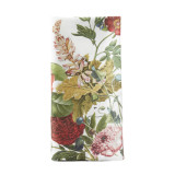 Field Of Flowers White Napkin 22 in. sq