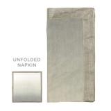 Dip Dye Gray/Silver Napkins