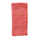 Chambray Gauze Salmon Napkins