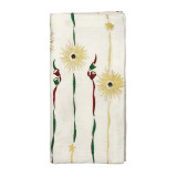 Retro Holiday White/Red/Green Napkins