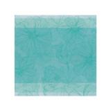 So Bloom Turquoise Blue Square 21 In Napkin