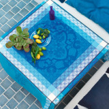 Azulejos Blue China Table Linens