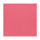 Esprit Couture Lipstick Pink Napkin Square 21 in (Pois)