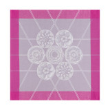 Galerie Parisienne Light Mauve Napkin Square 22 in