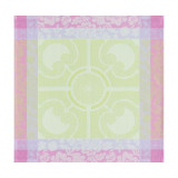 Jardin Royal Green Napkin Square 22 in