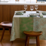 Sakura Celadon Table Linens