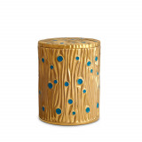 Bois d'Or - Gold + Turquoise Candle
