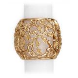 Lorel Gold Napkin Rings, Four