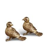 Bird Gold Salt & Pepper Shakers