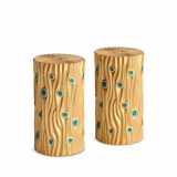 Bois d'Or S&P Shakers Gold - Set of 2