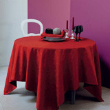 Mille Pensees Scarlet Table Linens