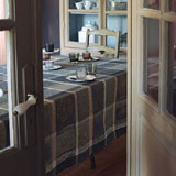 Mille Wax Cendre Table Linens