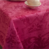 Topkapi Raspberry Table Linens