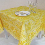 Topkapi Buttercup Lemon Table Linens