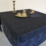 Grand Soir Blue Table Linens