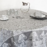 Grand Soir Dark Grey Table Linens